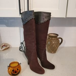 J Vincent Knee High Boots